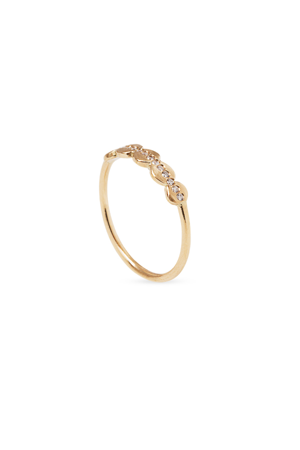 Sophie Ratner - Embedded Orbit Ring   Size 6 5 View 1