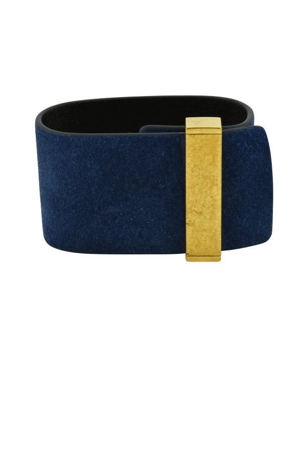 Celine - Suede Leather Cuff
