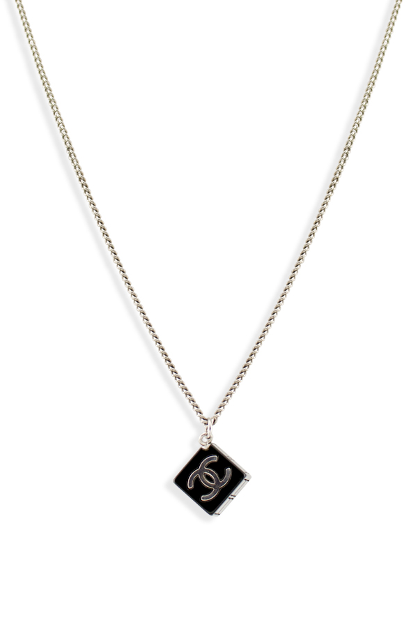 Chanel resin cube cc logo pendant necklace chanel 319766024switch jewelry chanel resin cube cc logo pendant necklace jpg aloadofball Image collections