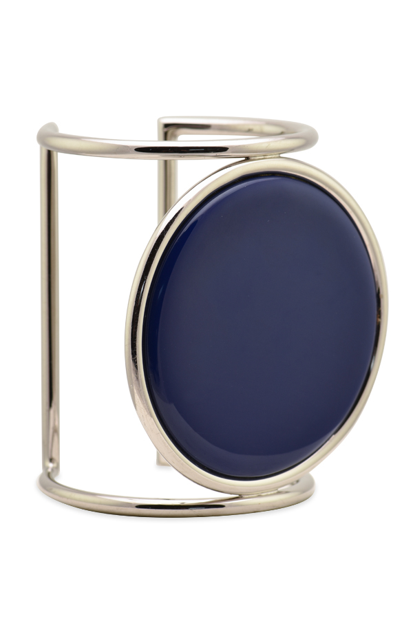 Celine - Circle Cage Plate Cuff
