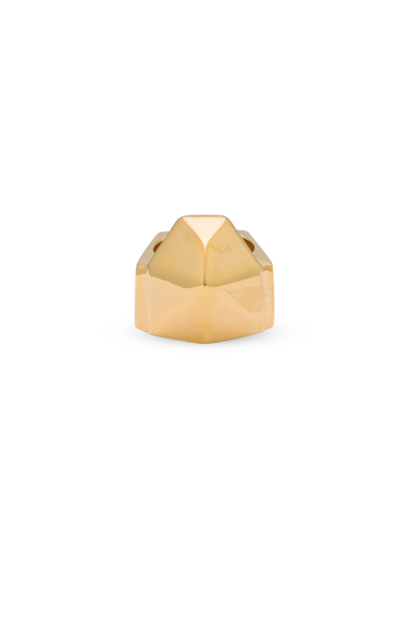 Yves Saint Laurent - Clous De Paris Pyramid Ring - Size 7