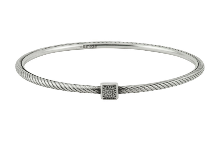 David Yurman - Pave Diamond Confetti Bangle