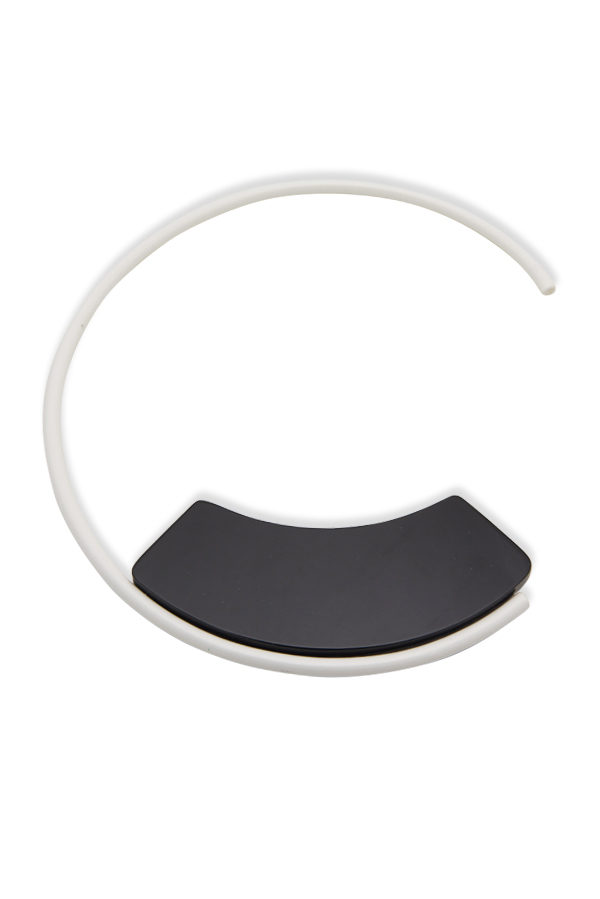 Marni - Asymmetrical Resin Collar Necklace