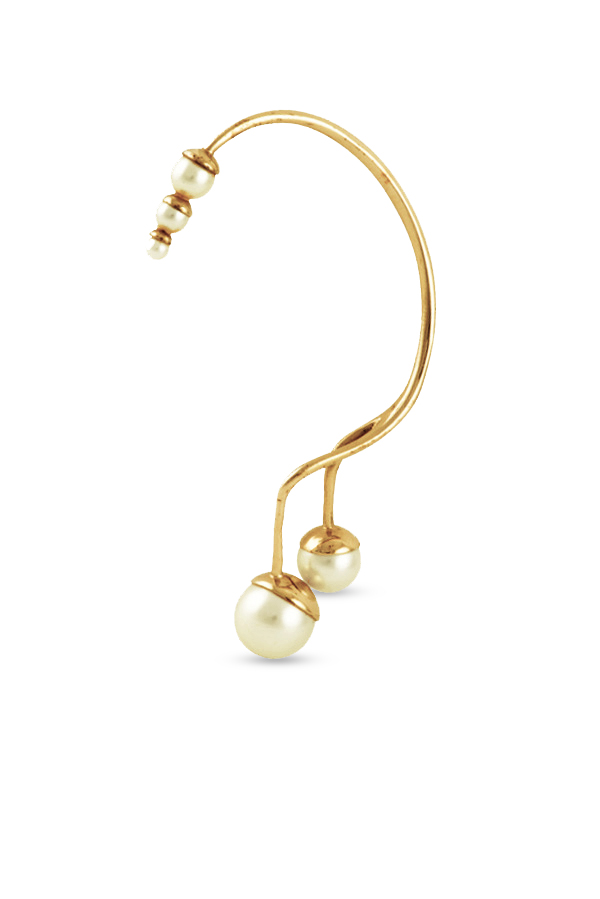 Christian Dior - Pearl Ear Cuff View 1