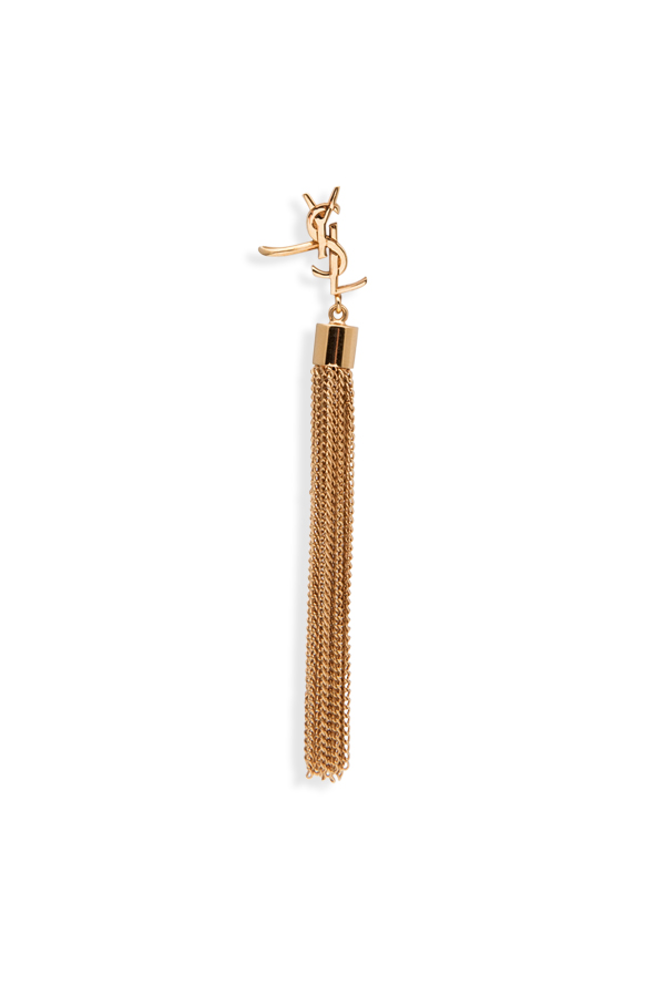 Yves Saint Laurent - Monogram Single Tassel Earring