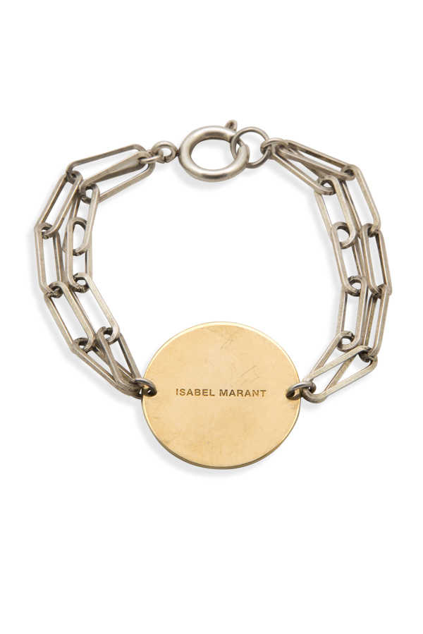Isabel Marant - 421456400_Switch Jewelry Isabel Marant Gold And Silver Oval Link Bracelet jpg