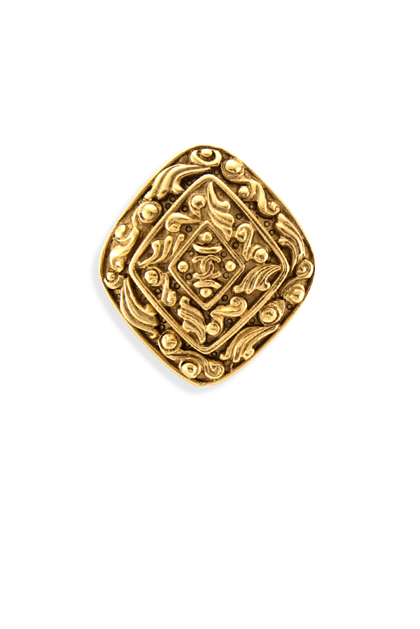 Chanel - 430199421_Switch Jewelry Chanel Vintage Intricate Motif Rhombus Brooch jpg