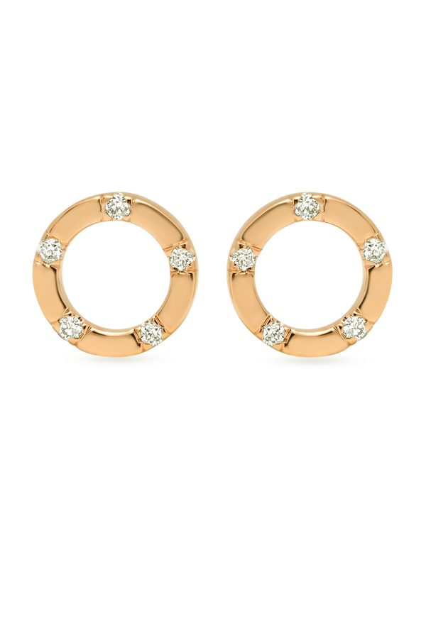 Switch - 444498226_Switch Jewelry Simple Circle Studs  18k Yellow Gold  jpg