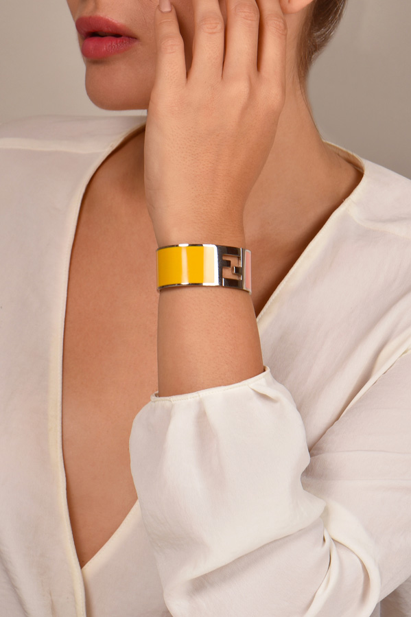 Fendi - Fendista Bracelet  Yellow Pink  View 2