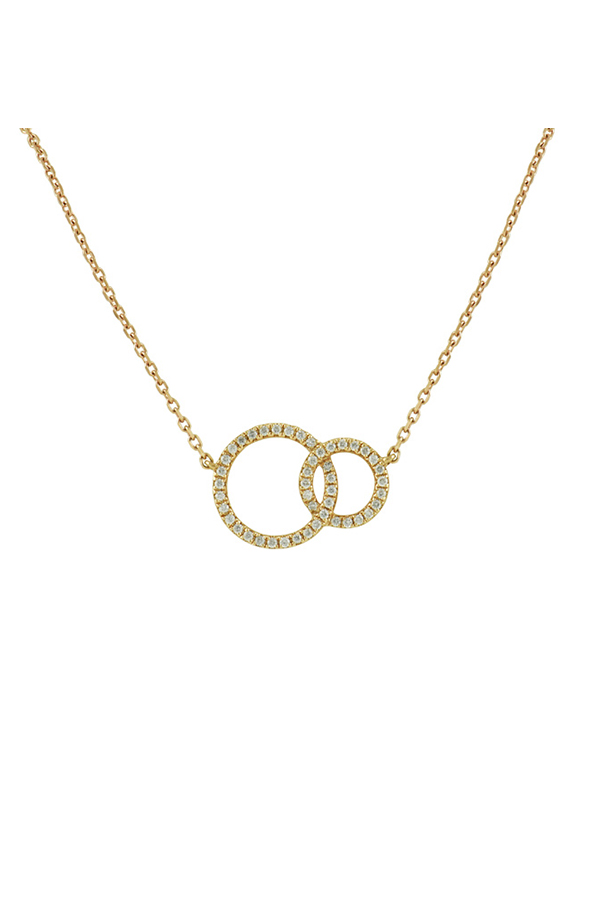 Switch - 446287507_Switch Jewelry Yu Interlocking Circle Necklace jpg