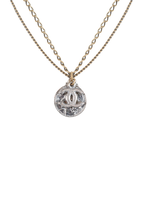 Chanel - Vintage Mademoiselle Coin Pendant Necklace View 1