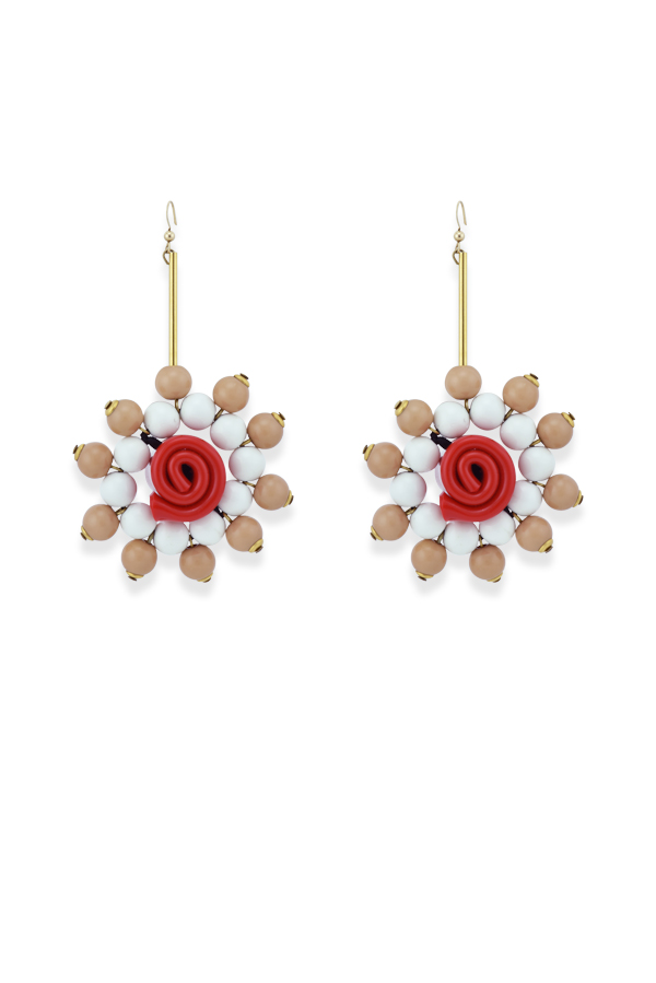 Marni - 46521506_Switch Jewelry Marni Beaded Flower Drop Earrings jpg