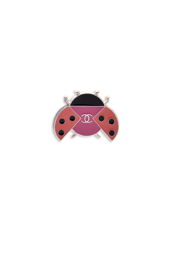 Chanel - Ladybug Pin Brooch View 1
