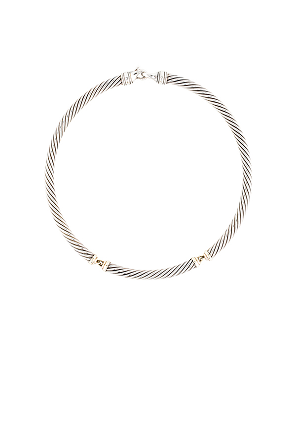 David Yurman - Cable Necklace