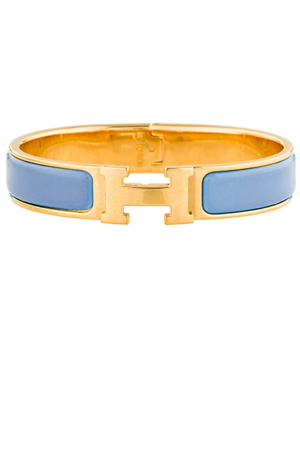Hermes - 491500775_Switch Jewelry Hermes Narrow Clic H Transat Blue and Gold PM 2 jpg