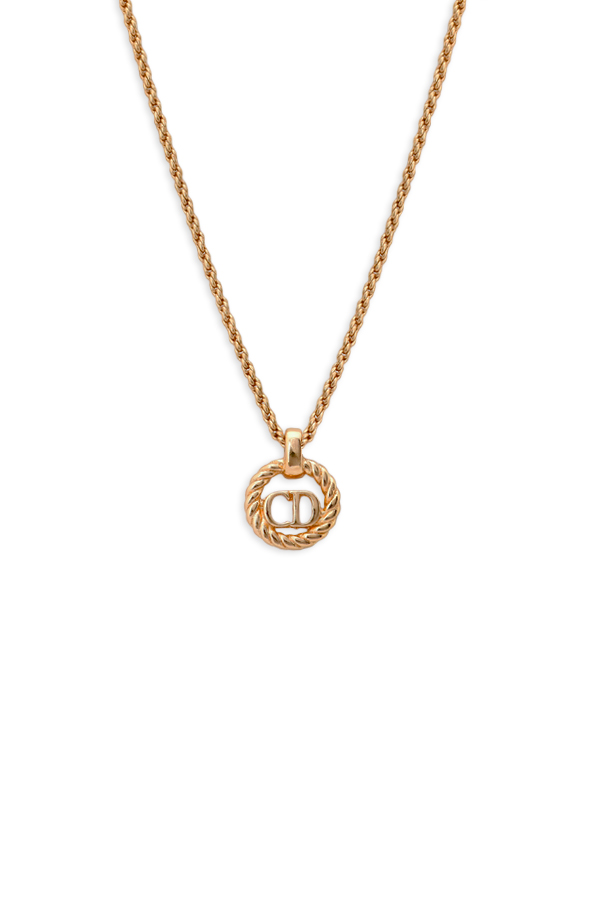 Christian Dior - CD Logo Gold Chain Necklace