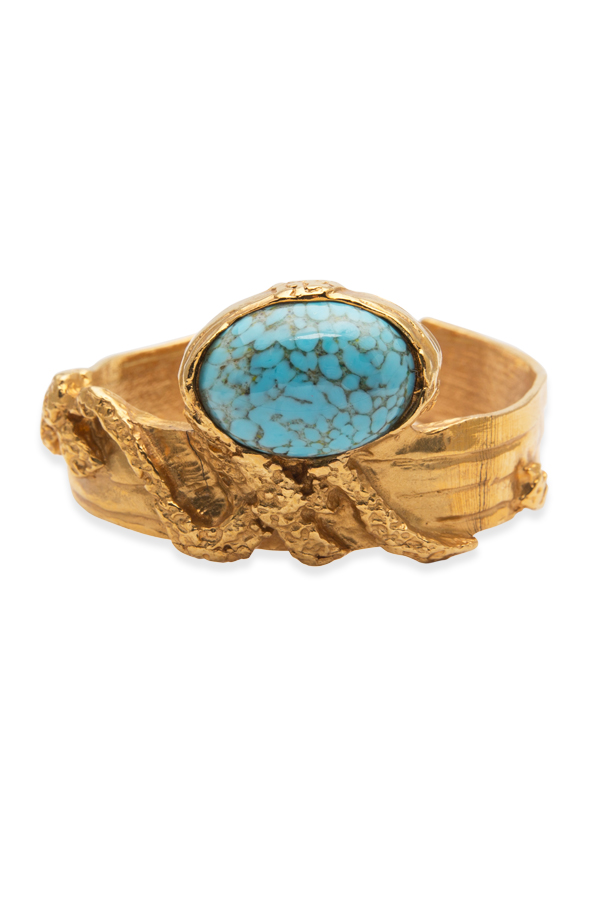 Yves Saint Laurent - Arty Oval Cuff - Blue