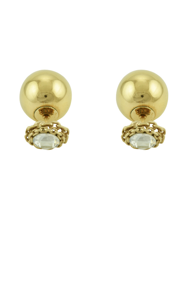 Christian Dior - Tribale Earrings (Gold)