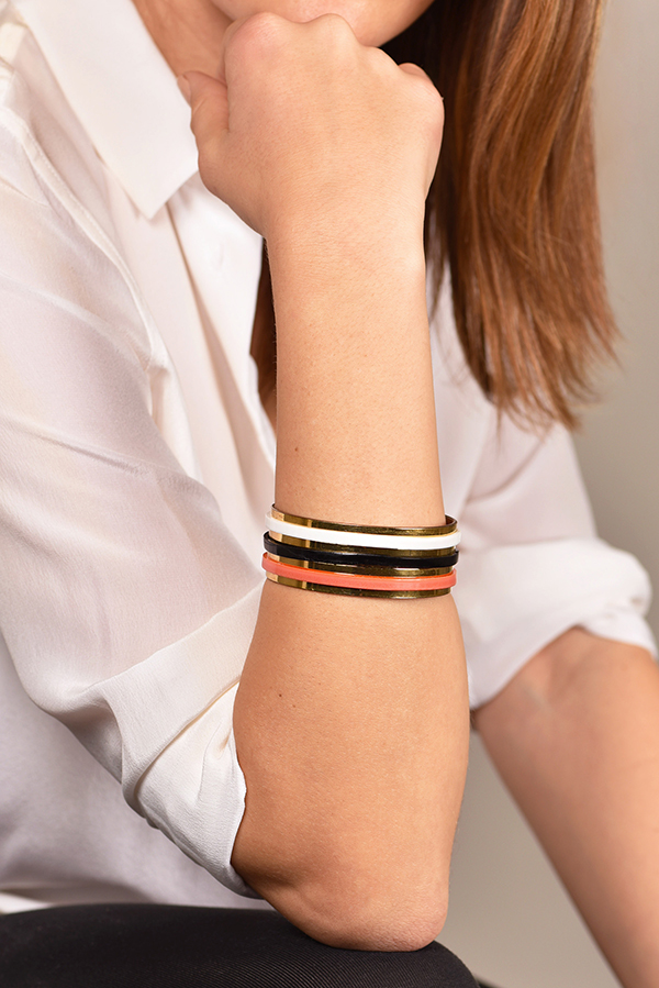 Marni - Colored Stripe Bangle