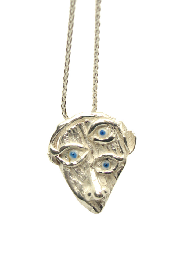 Coline Assade - Eye See You Pendant Necklace