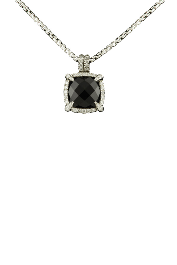 David Yurman - Chatelaine Bezel Necklace with Diamonds