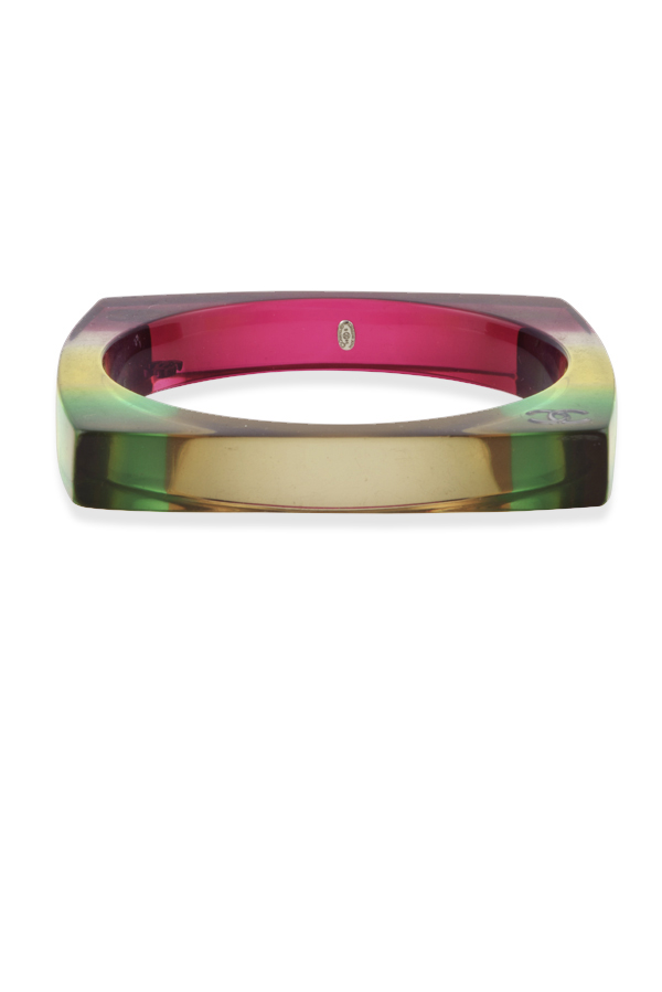 Chanel - 577721642_Switch Jewelry Chanel Multicolor Rainbow Striped Square Bangle 2 jpg