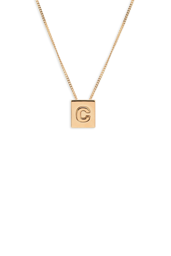 Celine - Alphabet C Necklace
