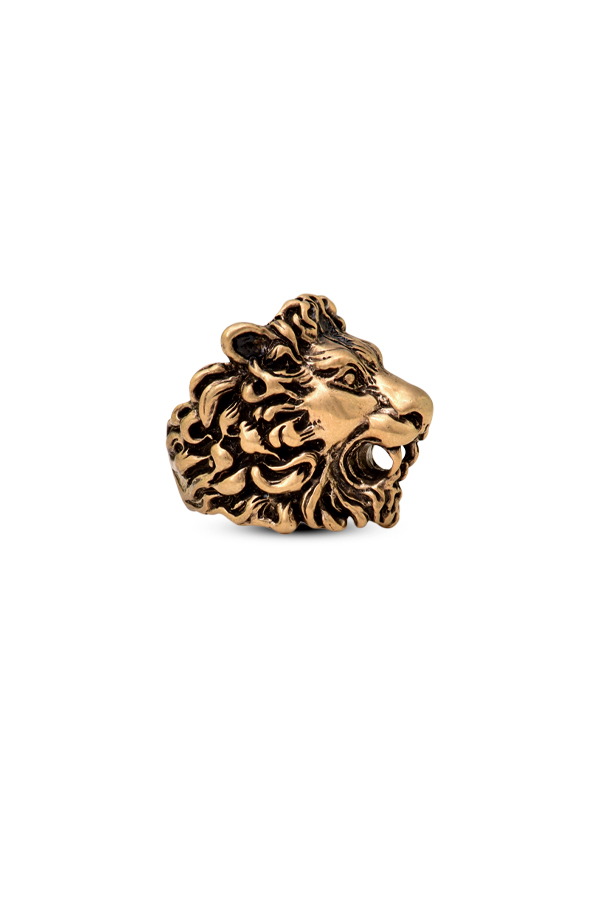 Gucci - Lion Head Ring   Size 8 View 2