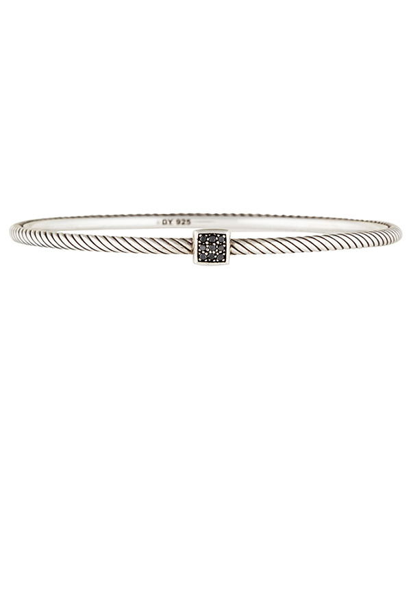 David Yurman - Black Diamond Confetti Bangle