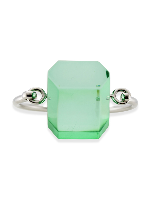 Celine - Green Iceberg Bracelet   Small View 1