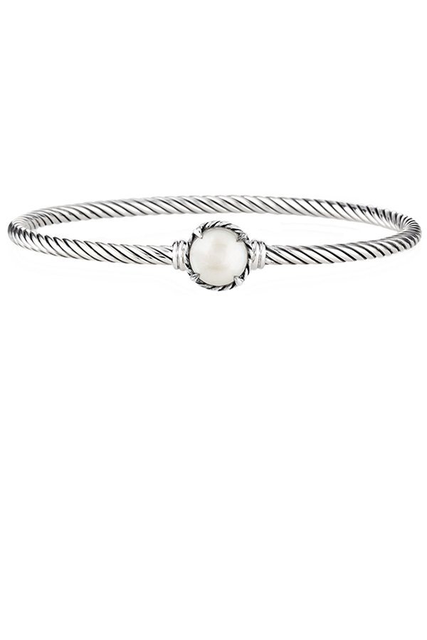 David Yurman - Chatelaine Bracelet (Pearl)