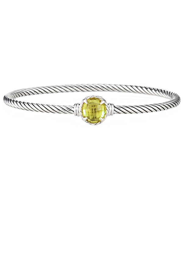 David Yurman - Chatelaine Bracelet (Lemon Citrine)