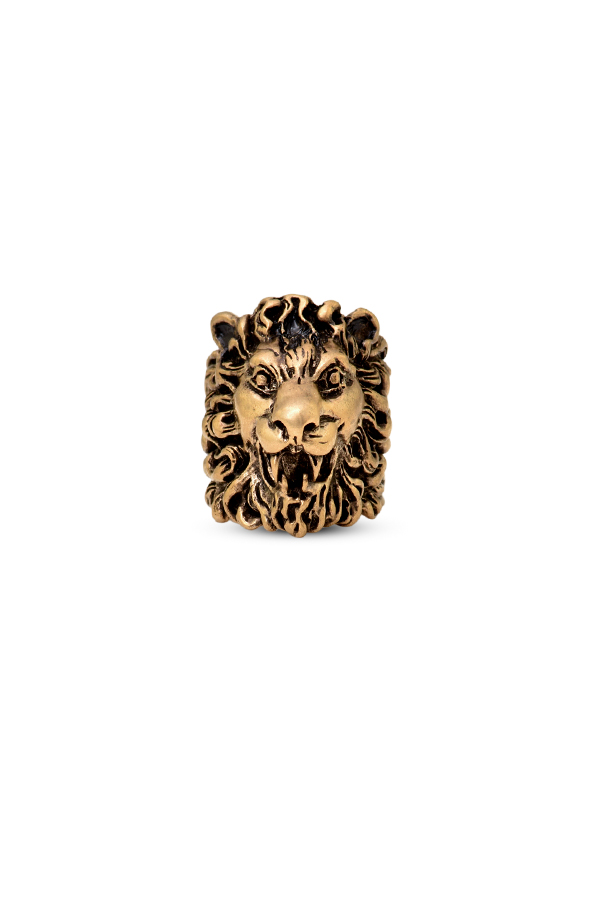 Gucci - Lion Head Ring - Size 6