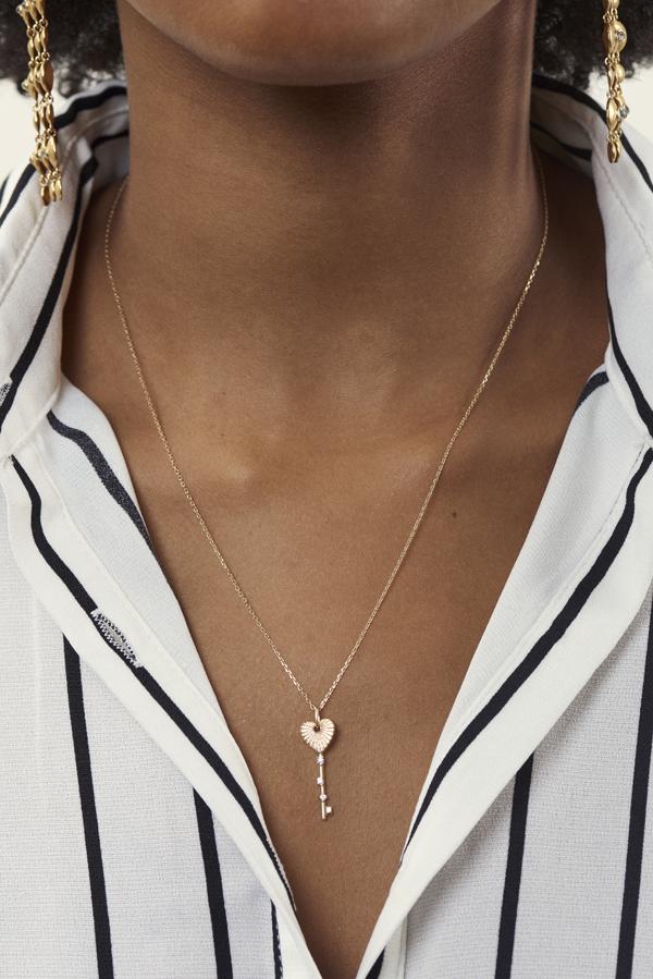 Heart Rays pendant