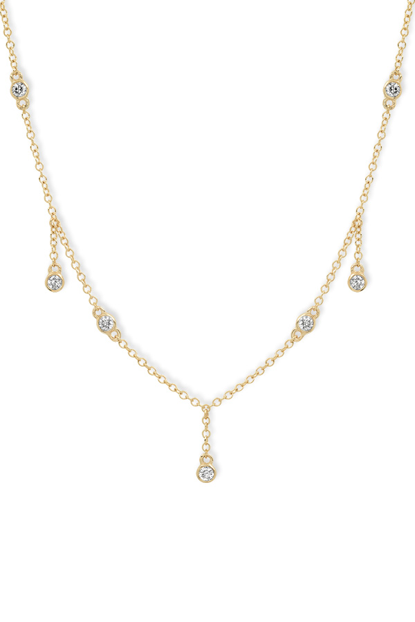 Do Not Disturb - The Tuscany Necklace (14k Yellow Gold and Diamonds)