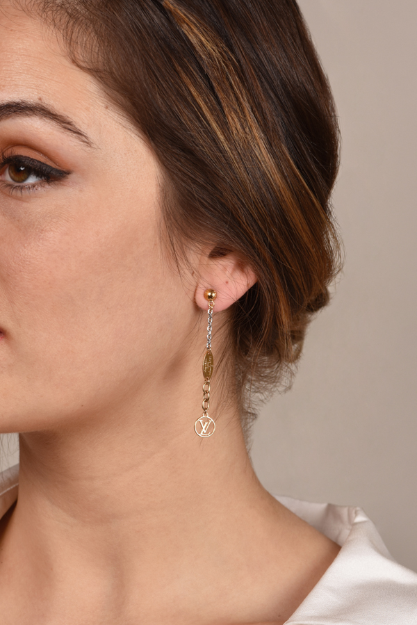 Louis Vuitton - Logomania Drop Earrings