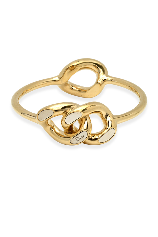Christian Dior - 709748467_Switch Jewelry Christian Dior Yellow Gold and Enamel Bracelet jpg