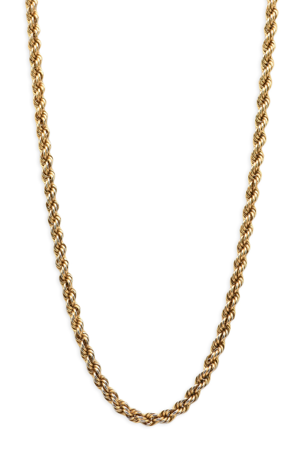 Christian Dior - Vintage Rope Chain Necklace