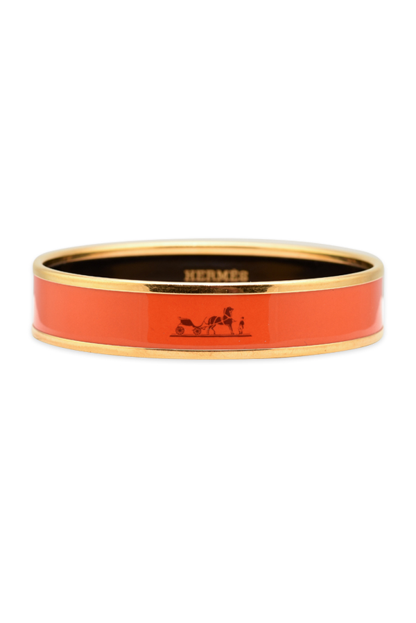 Hermes - Caleche Bracelet (Orange)