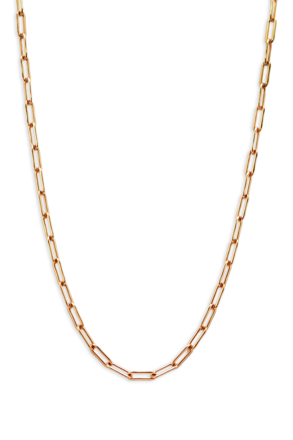 Chains and Pearls - Gold Filled Chain Necklace