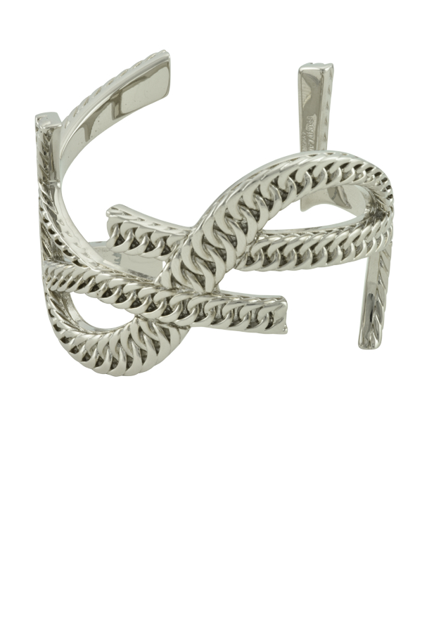 Yves Saint Laurent - Monogram Bracelet (Silver Brass)