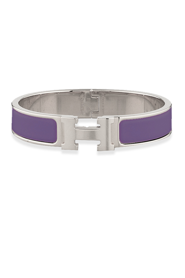 Hermes - 759767430_Switch Jewelry Hermes Narrow Clic H Bracelet  Mauve Palladium Plated    PM jpg