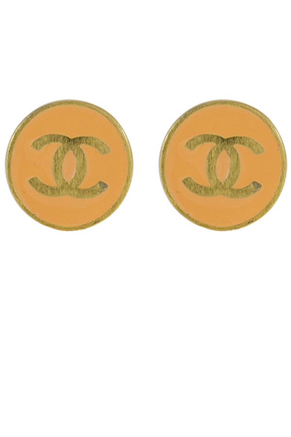 Chanel - CC Simple Earrings View 1