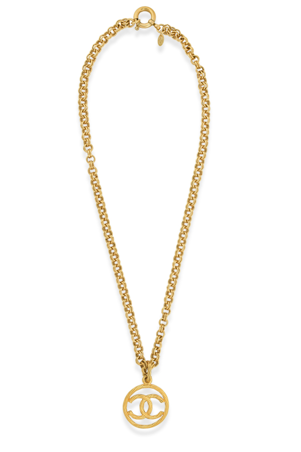Chanel - Vintage Weave Necklace
