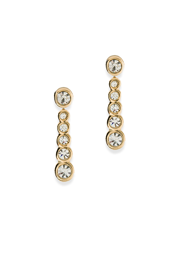 Christian Dior - Vintage Crystal Drop Earrings