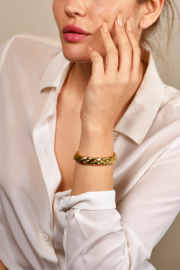 Jennifer Fisher - Gold Braid Cuff