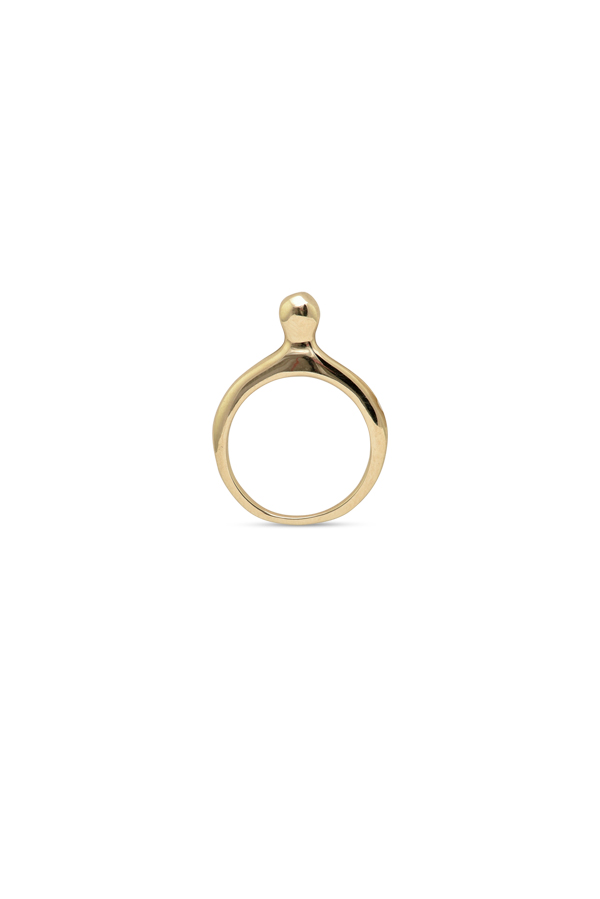 Rebecca Pinto - Digue Ring (14k Yellow Gold) - Size 5
