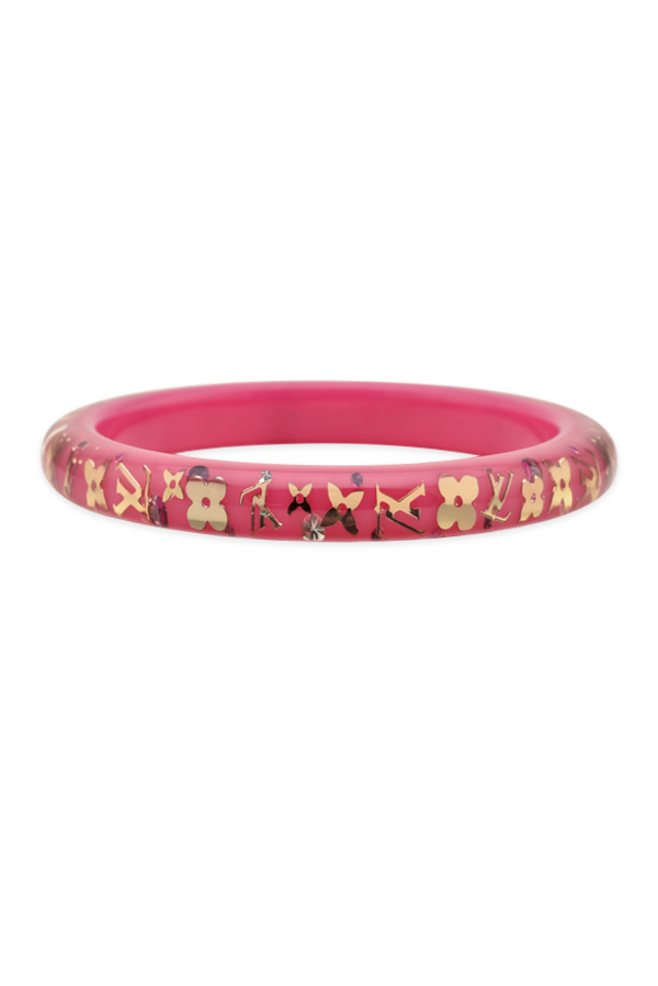 Louis Vuitton - Narrow Inclusion Bangle (Pink/Gold)