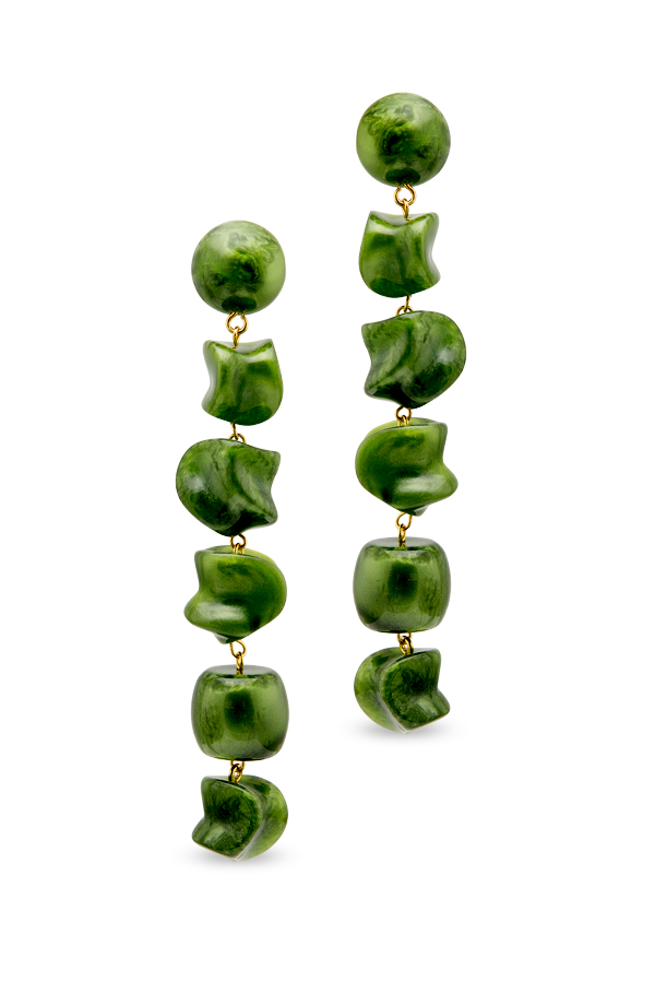 Cult Gaia - 891621932_Switch Jewelry Cult Gaia Green Leo Drop Earrings jpg