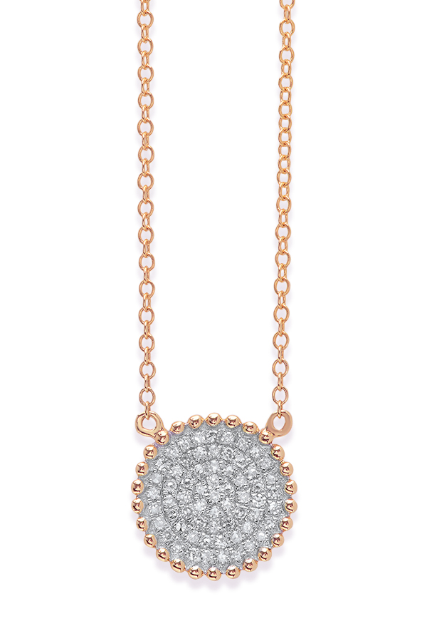 Do Not Disturb - The Bali Necklace (14k Rose Gold and Diamonds)